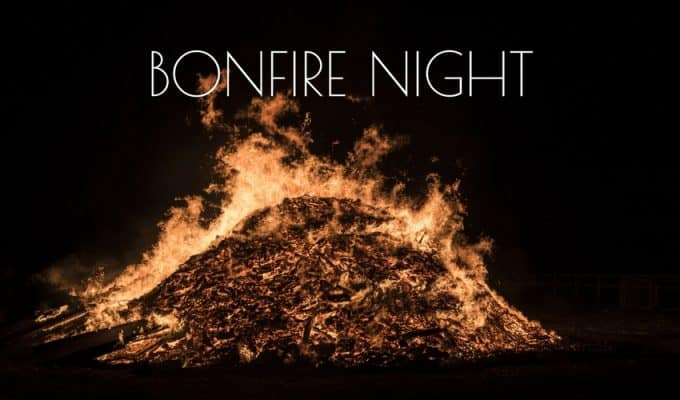 Bonfire night in Battersea